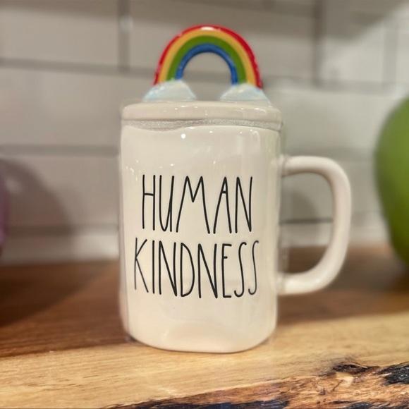 🆕 FINAL PRICE Rae Dunn Human Kindness Mug
